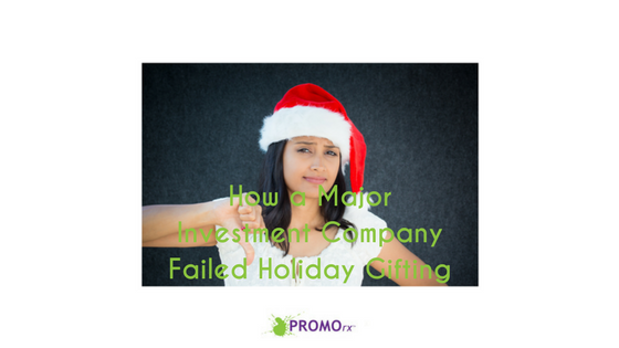 How A Major Investment Management Company Failed Holiday Gifting