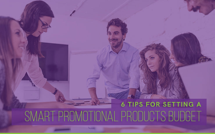 6 tips setting promotional products budget