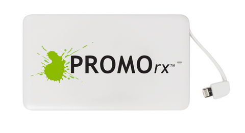 promorx branded portable charger