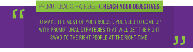 promotional strategies budget quote
