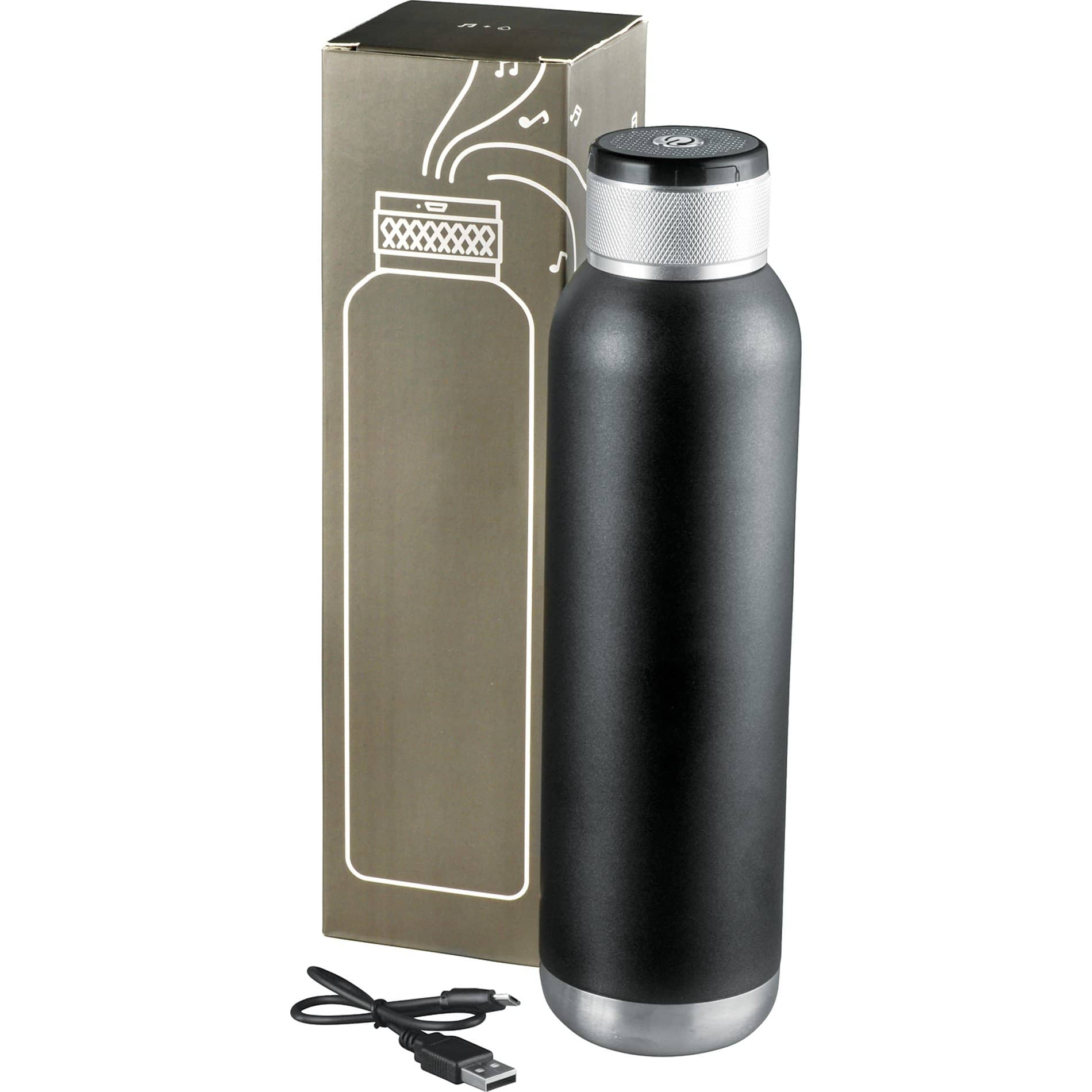 bluetooth speaker insulated bottle packaging
