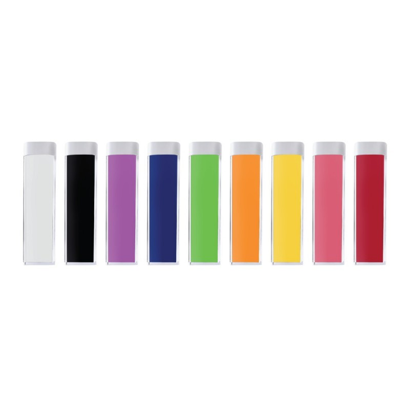Plastic Power Bank Colors