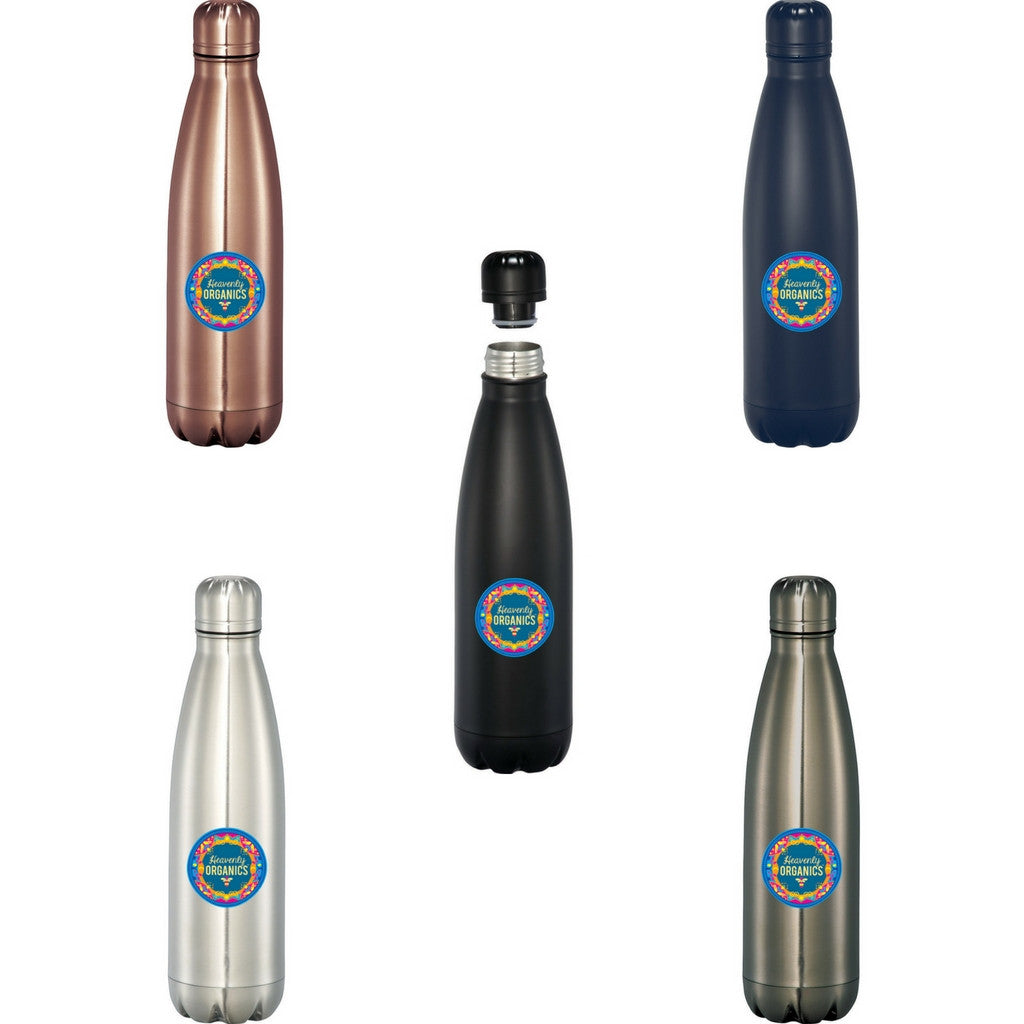 Imprinted Vacuum Insulated Bottle 17 oz