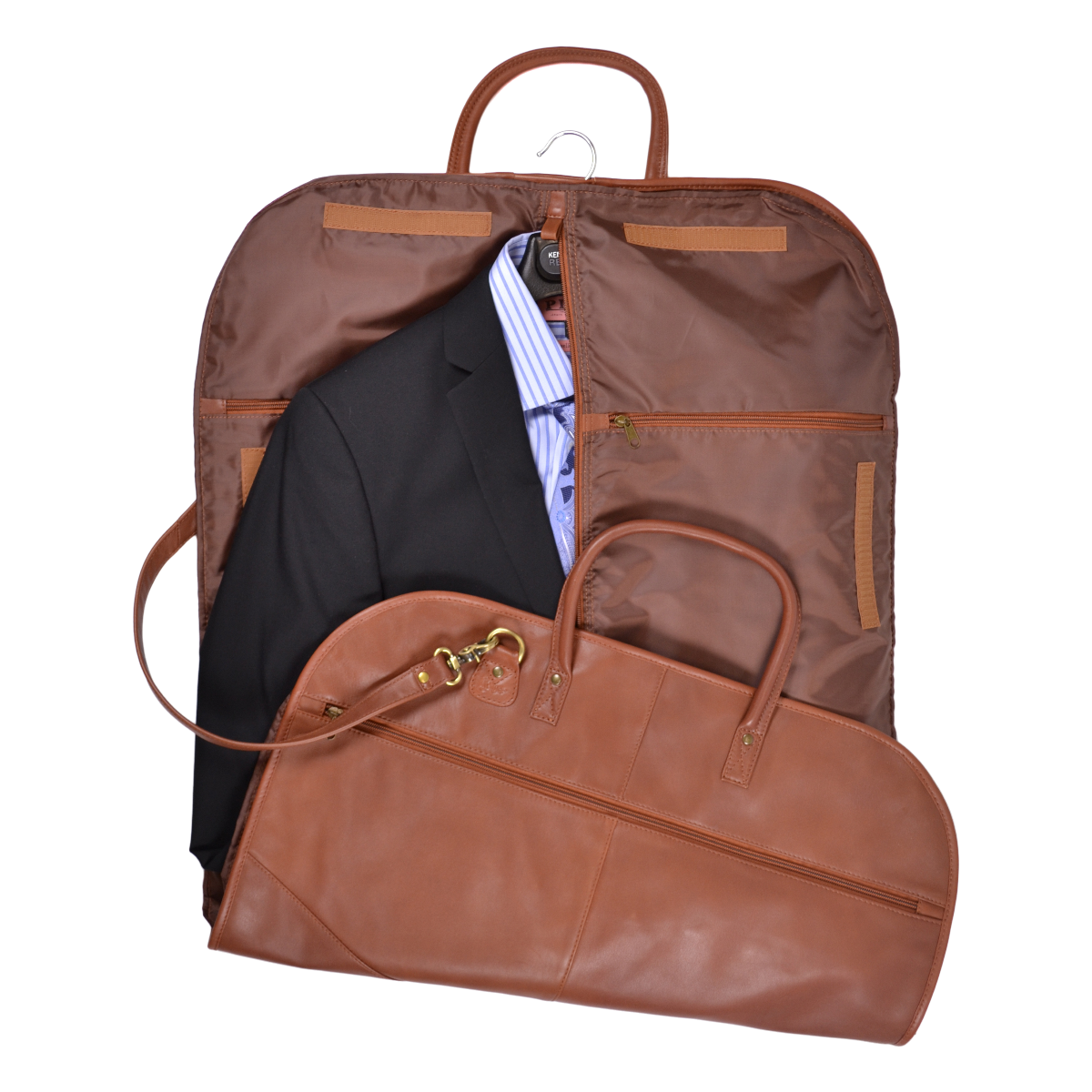 Genuine Leather Garment Bag