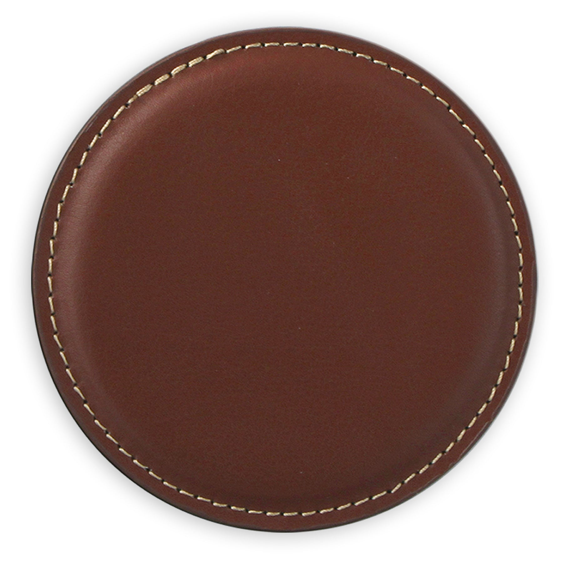 Recycled Debossed Leather Coasters