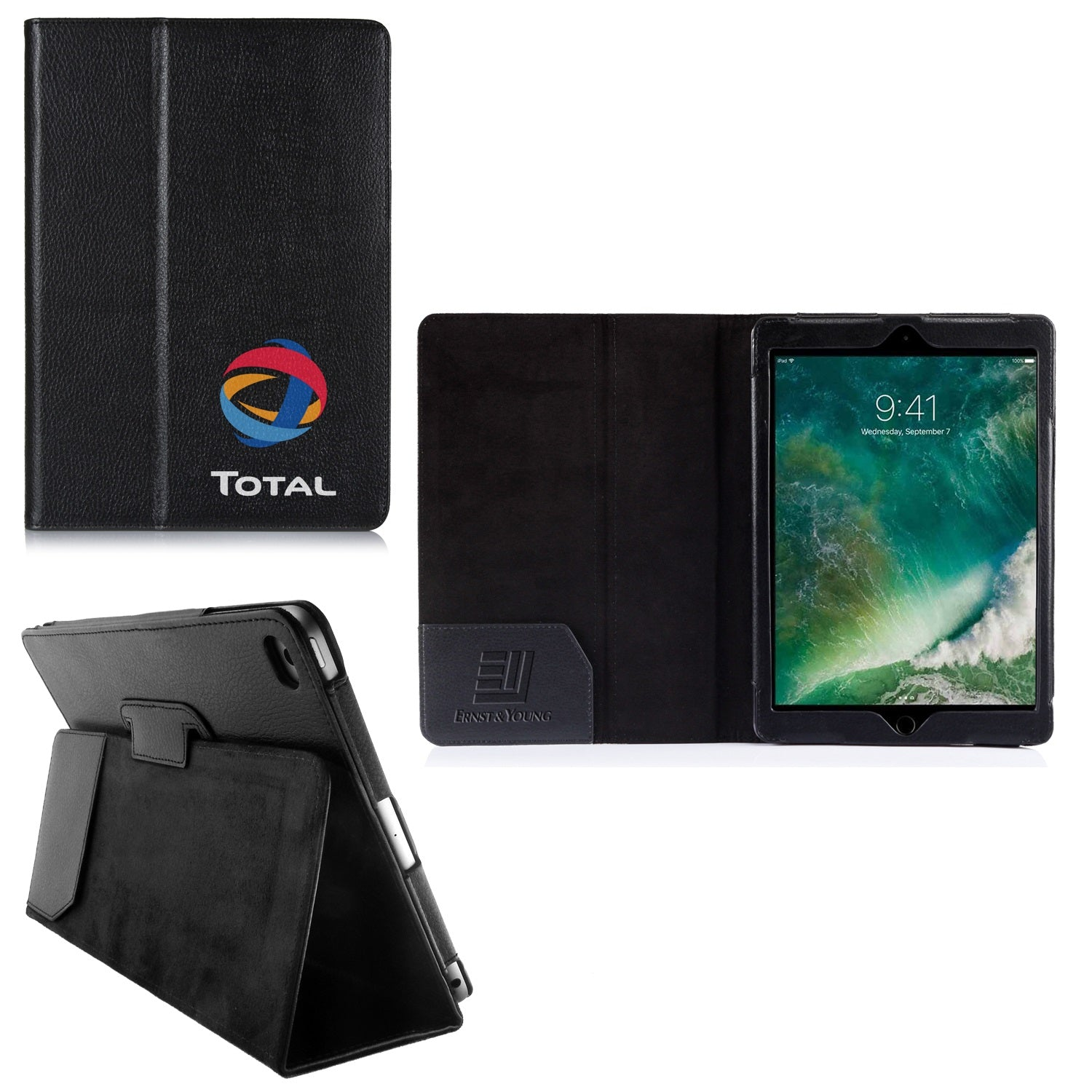 Company Logo iPad Cases 9.7""