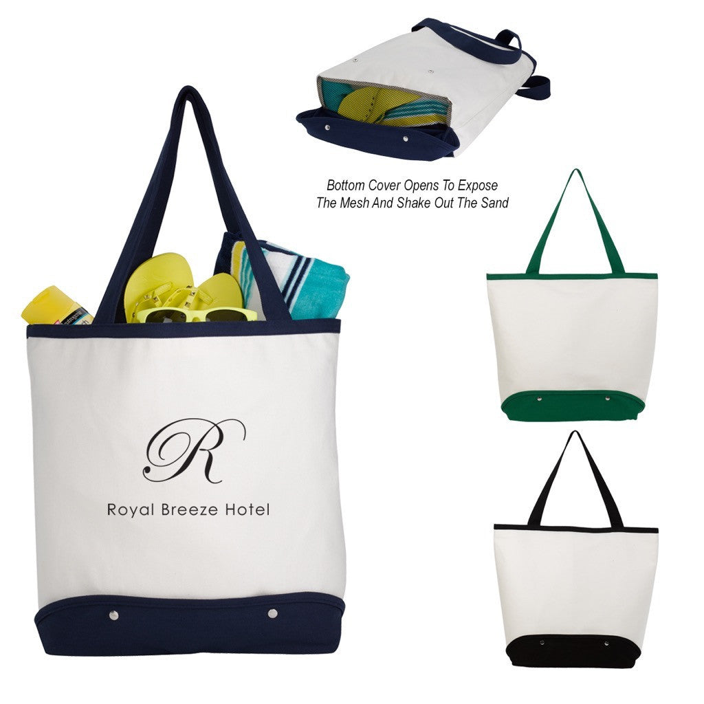 Beach Tote Bag (Leave the Sand Behind..)