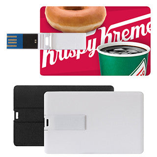 3.0v Credit Card Flash Drive