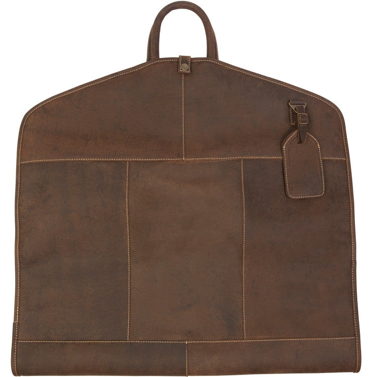 Full Grain Leather Garment Bag