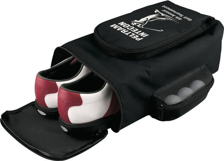 Golf Shoe Bag with Golf Ball Storage