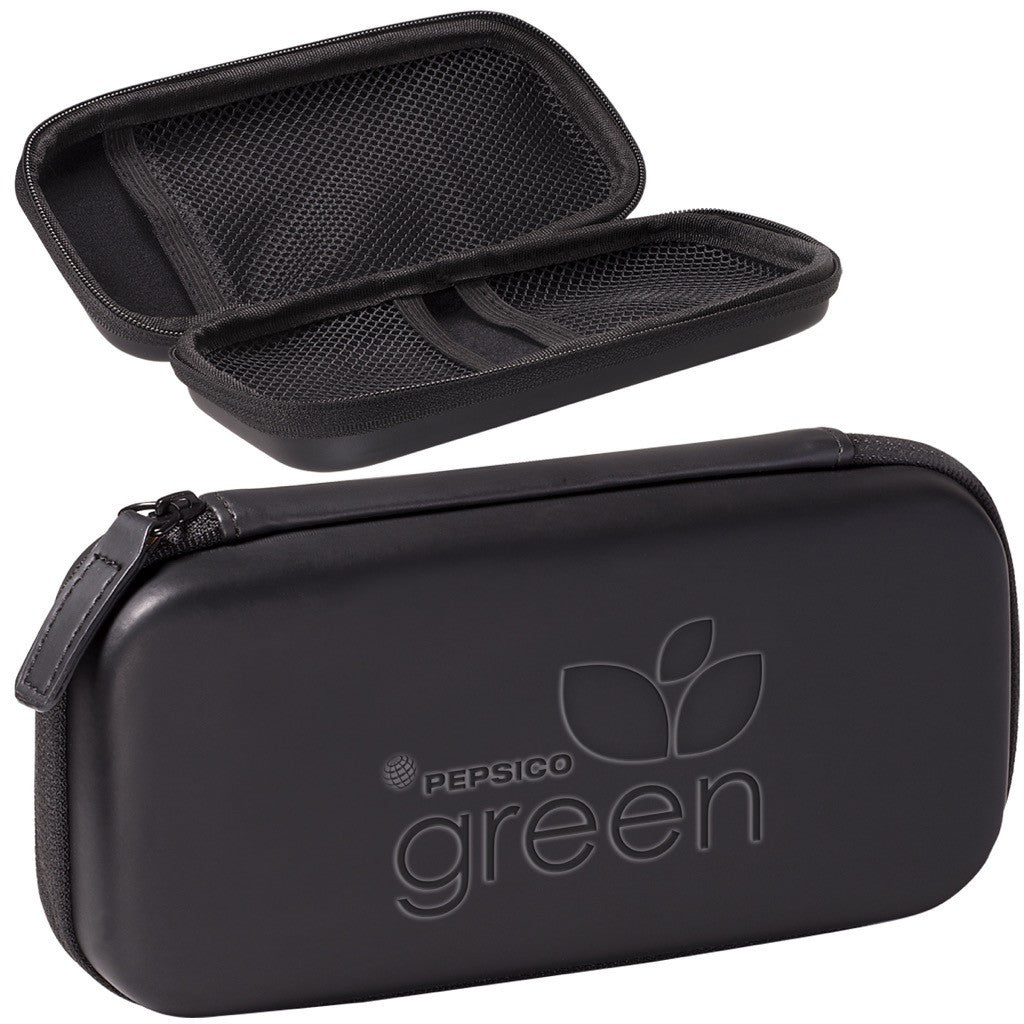 Zippered Travel Tech Accessory Case