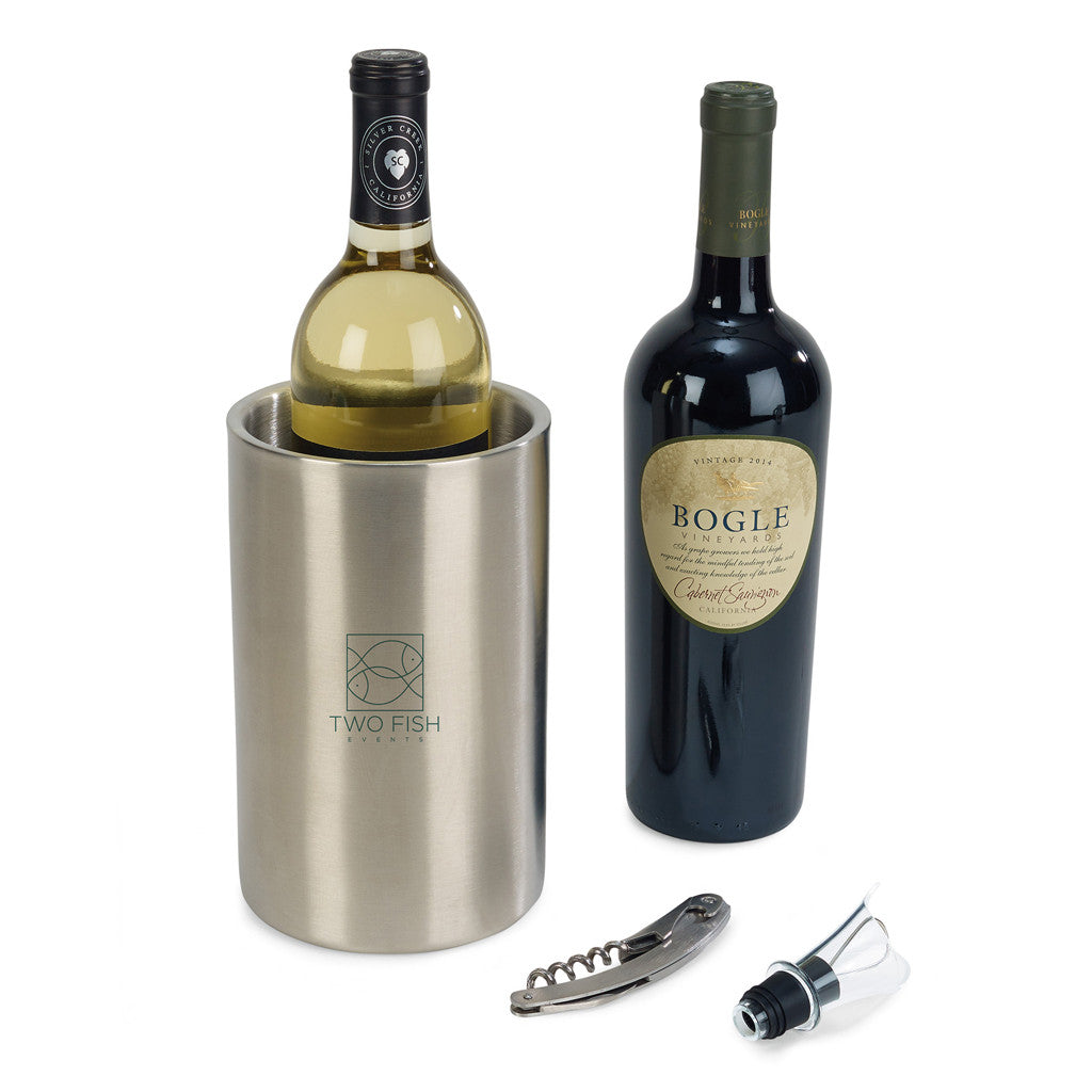 Engraved Insulated Wine Cooler