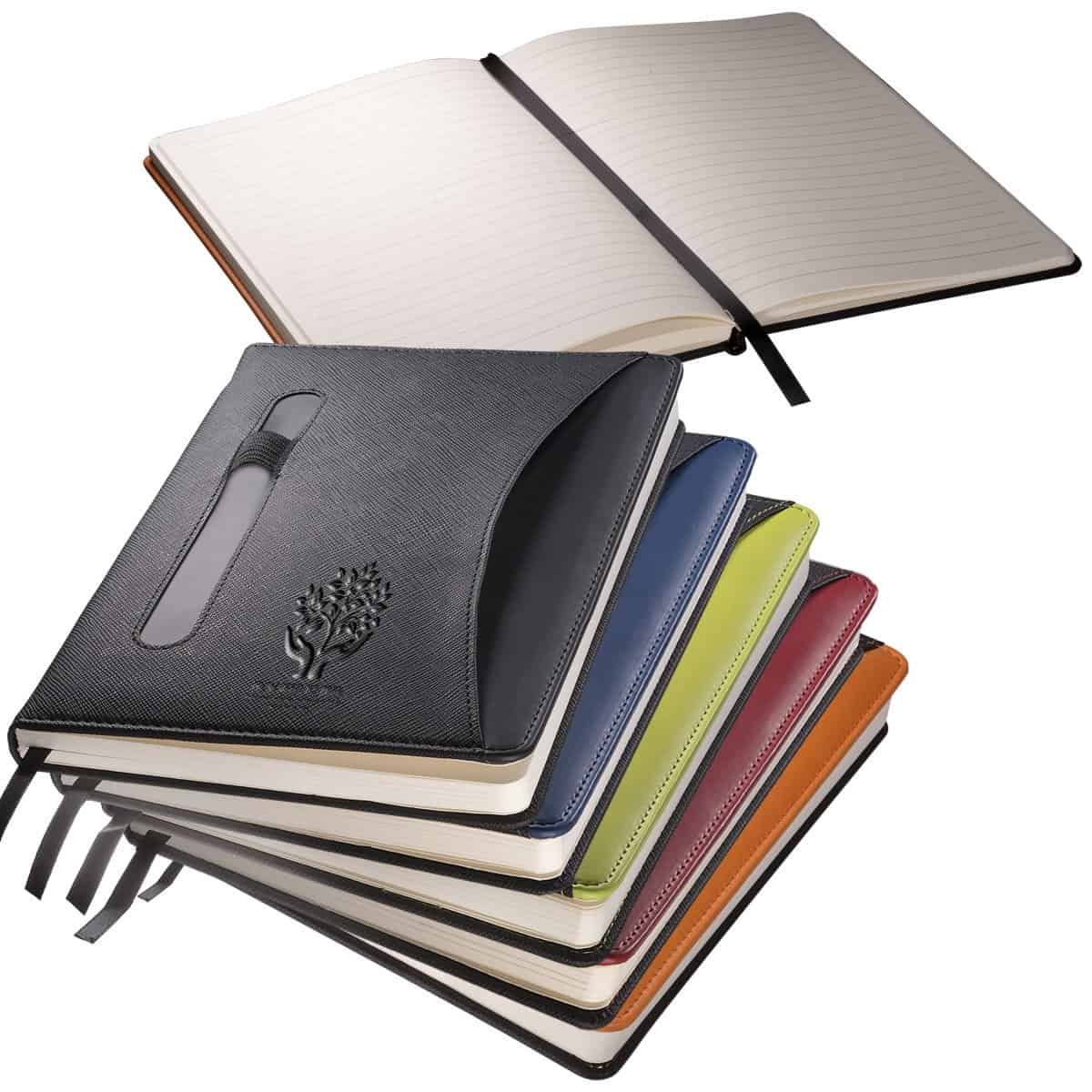 Promotional Journal with Pen Holder