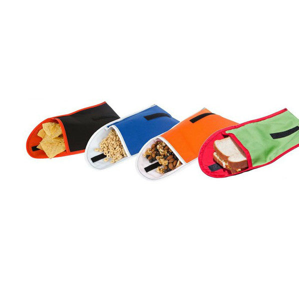 Recycled Reusable Sandwich Snack Bags