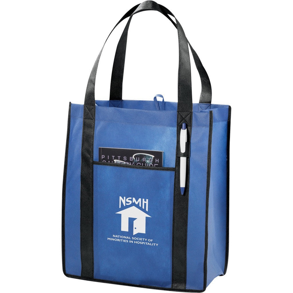 Reusable Two Tone Tote Bags
