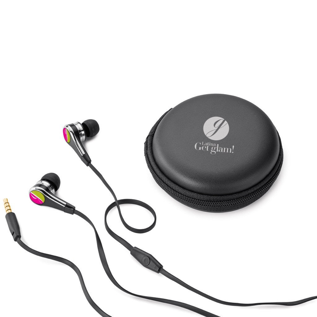 Earbuds (optional decoration) in Case