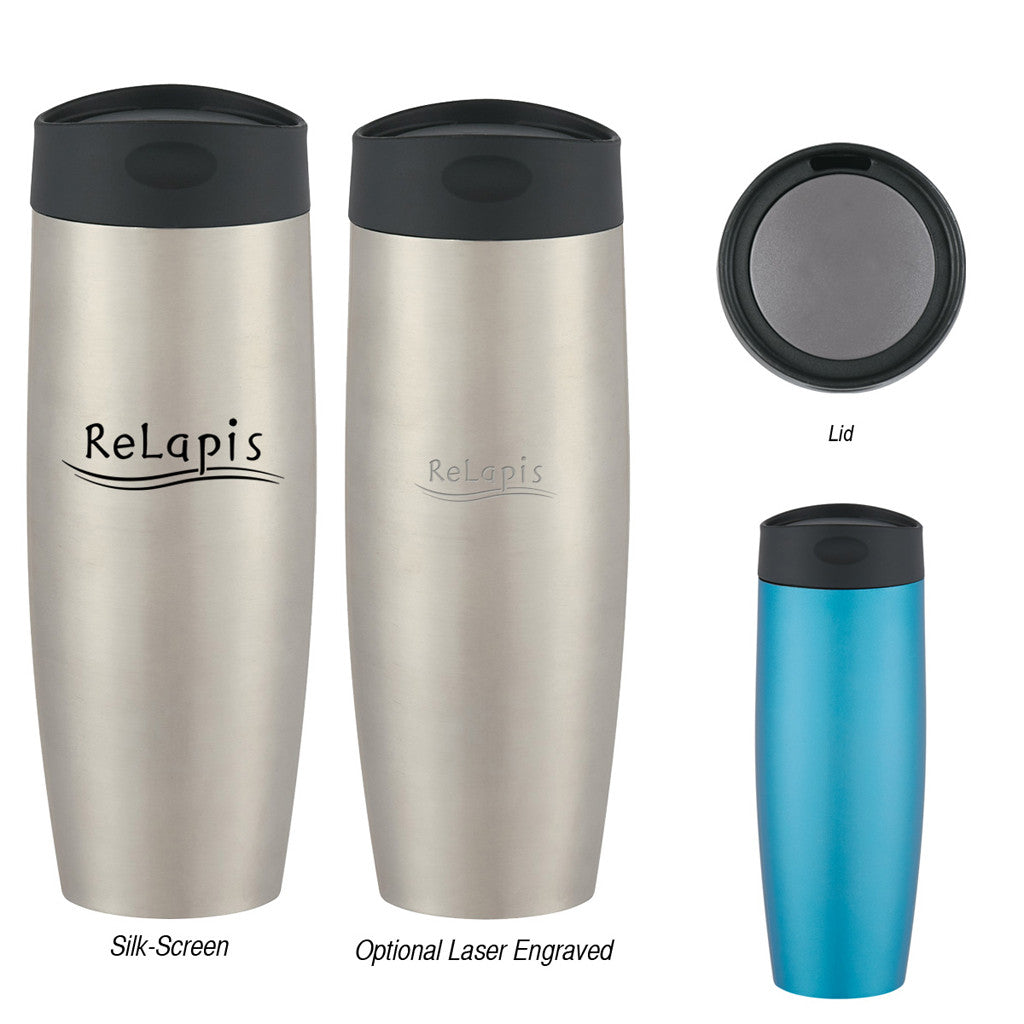 Stainless Steel Coffee Tumbler 16 oz