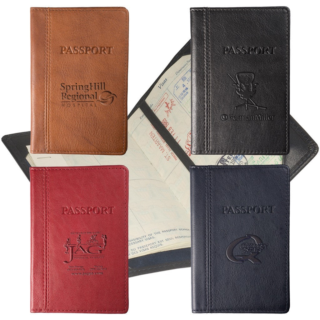 Top-Grain Leather Passport Holder