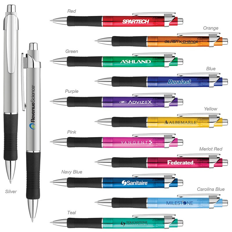 Translucent Barrel Gel Pens