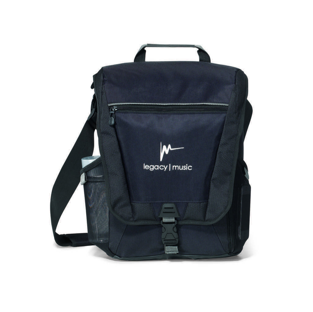 Vertical Messenger Laptop Bag