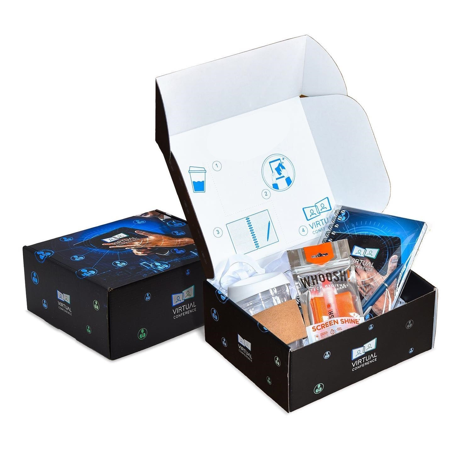 WFH Virtual Conference Kit Box