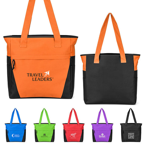 ba5f69444ba1b Custom Cotton Tote Bags with Logo - Promotional Fabric Totes - PROMOrx