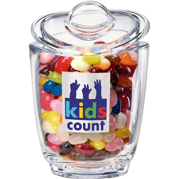 custom candy jar with lid