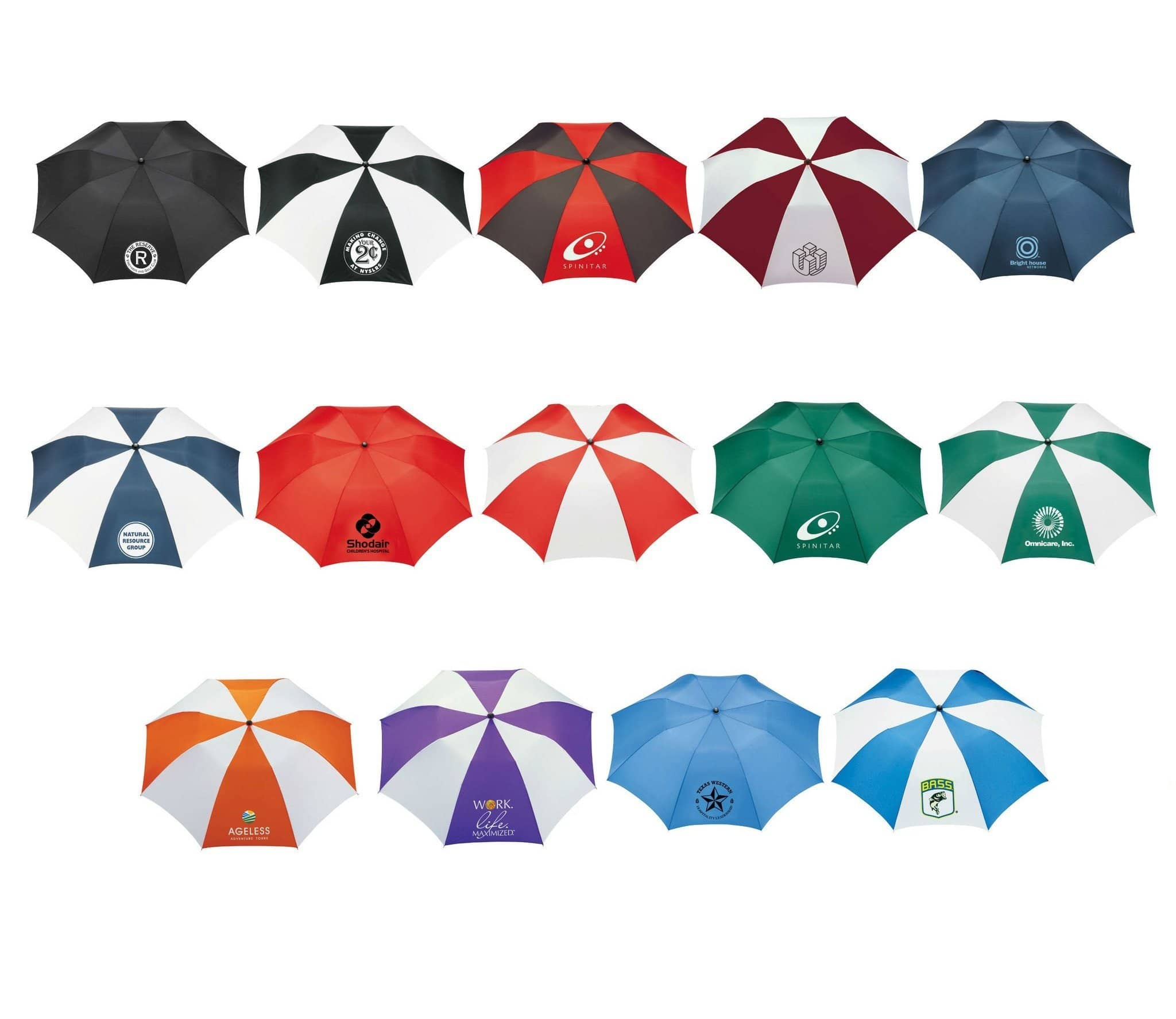 promotional umbrella colors