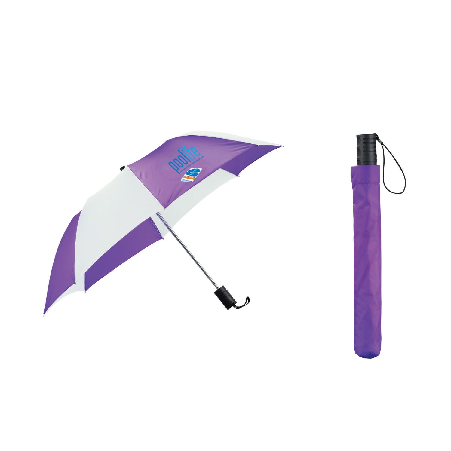 promotional umbrella with sleeve