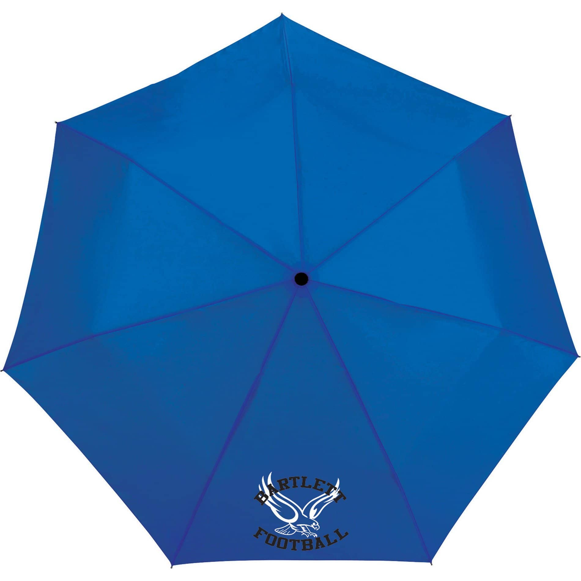 auto open promotional umbrella blue