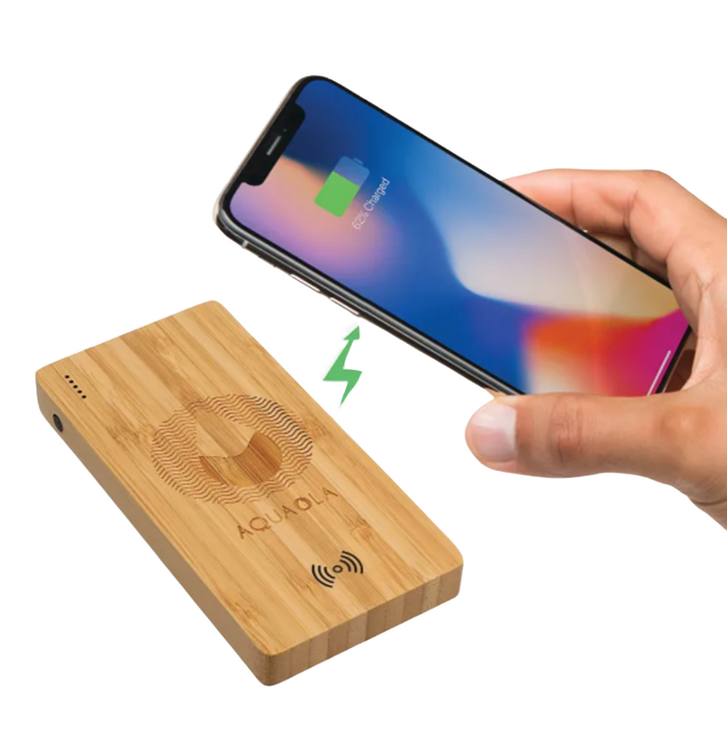 Bamboo Customized Wireless Charger