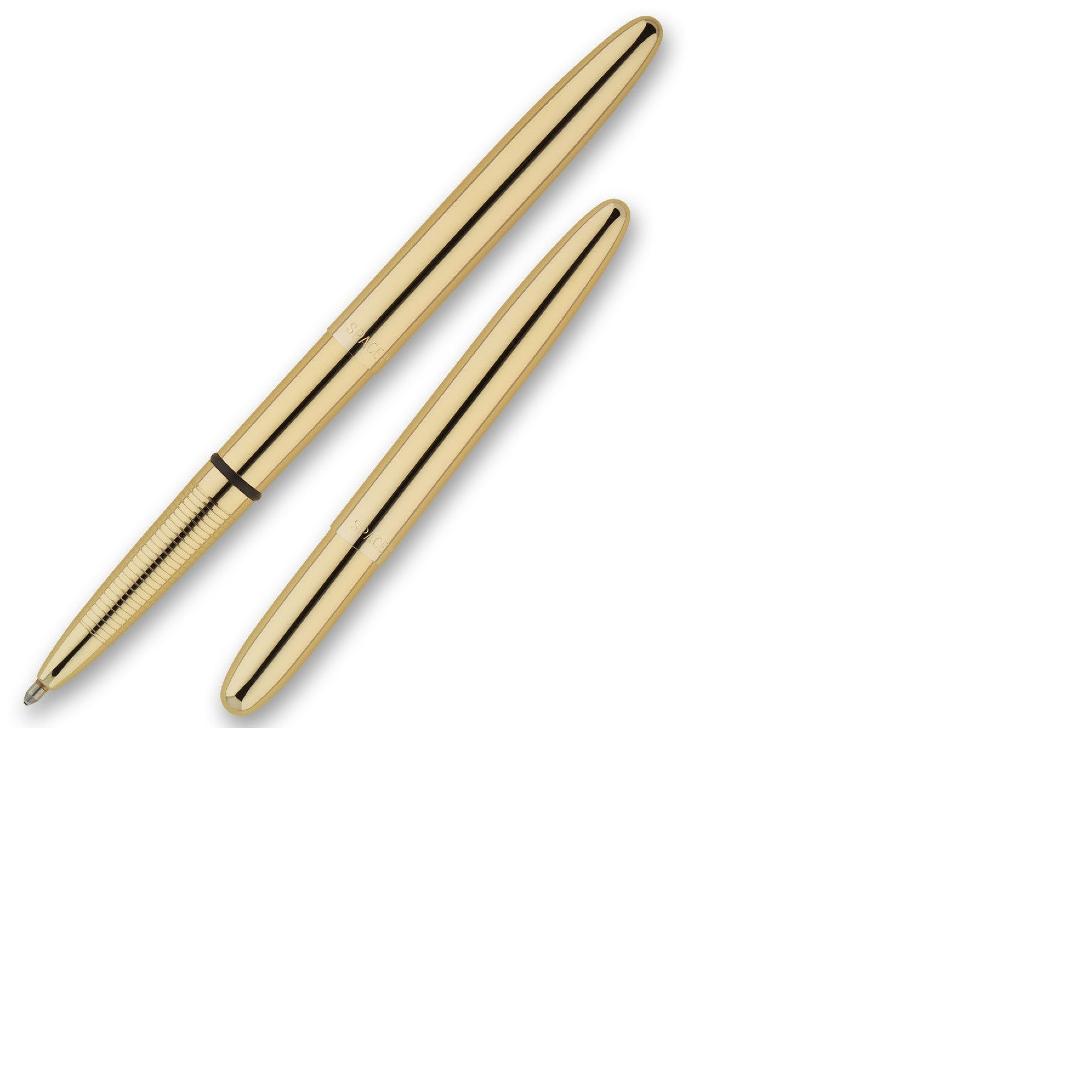 Bullet Space Pen Titanium Gold Finish