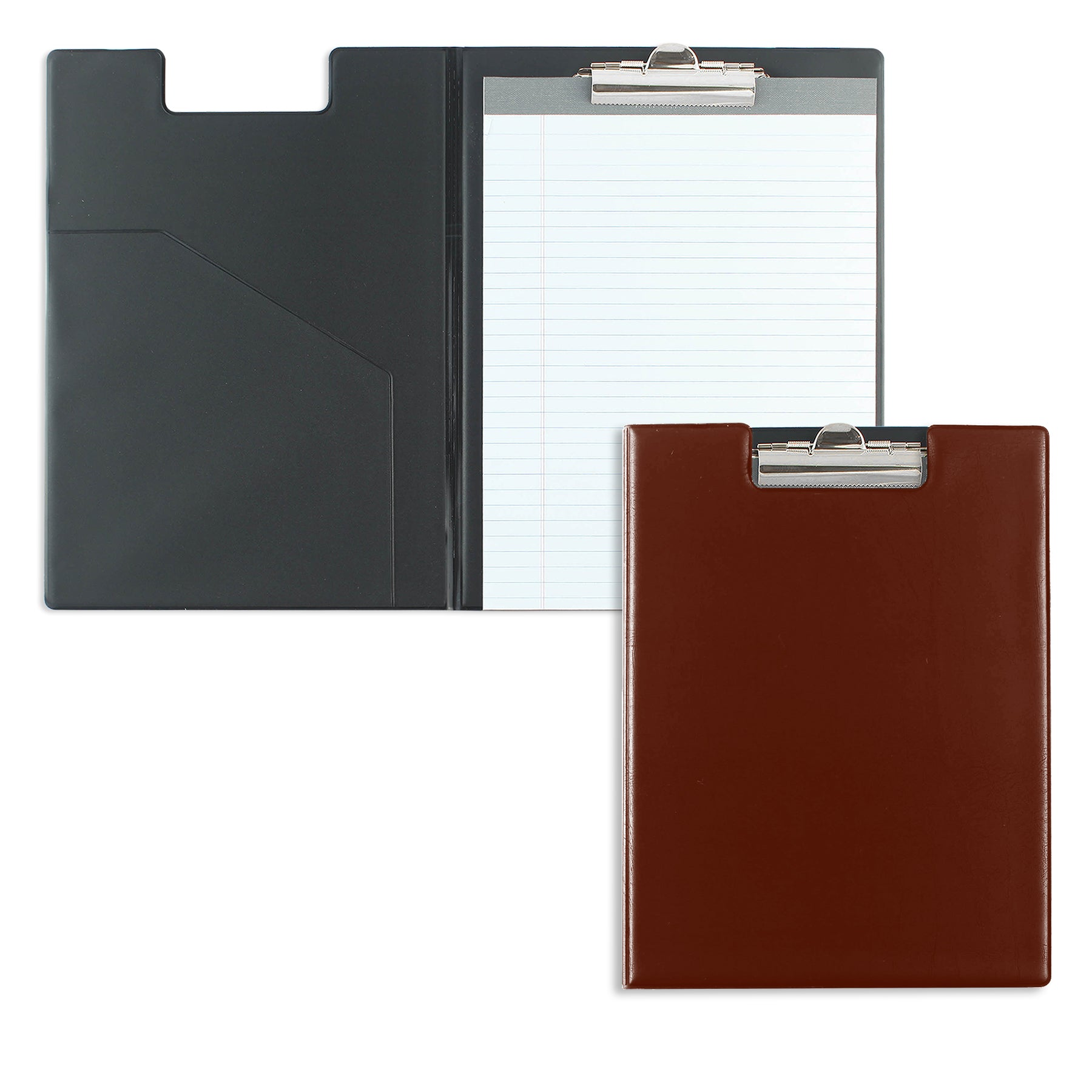 Burgundy Writing Pad Folder with Logo
