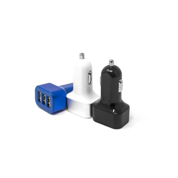 3 Port USB Car Chargers