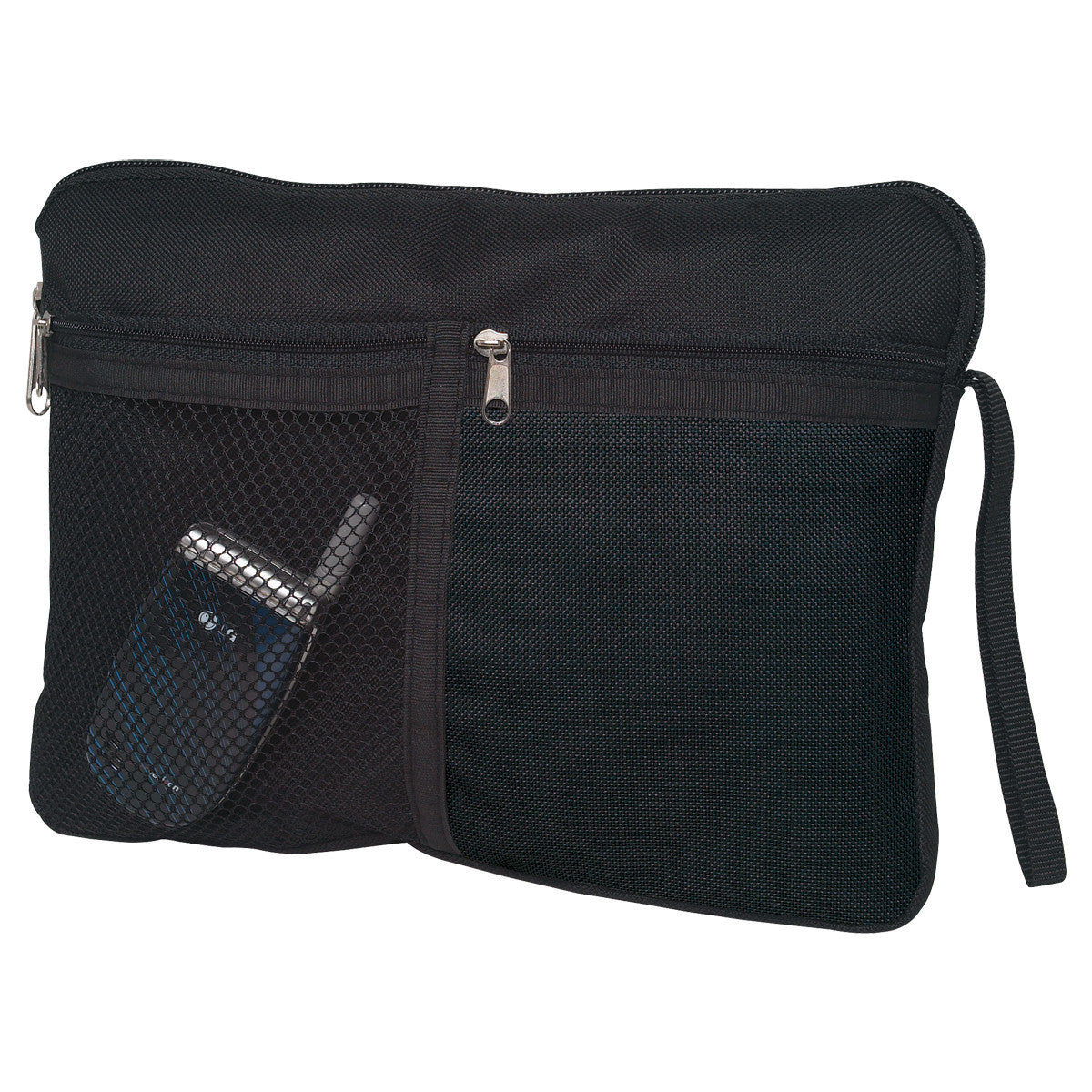 Carry All Accessory Zip Bag Black
