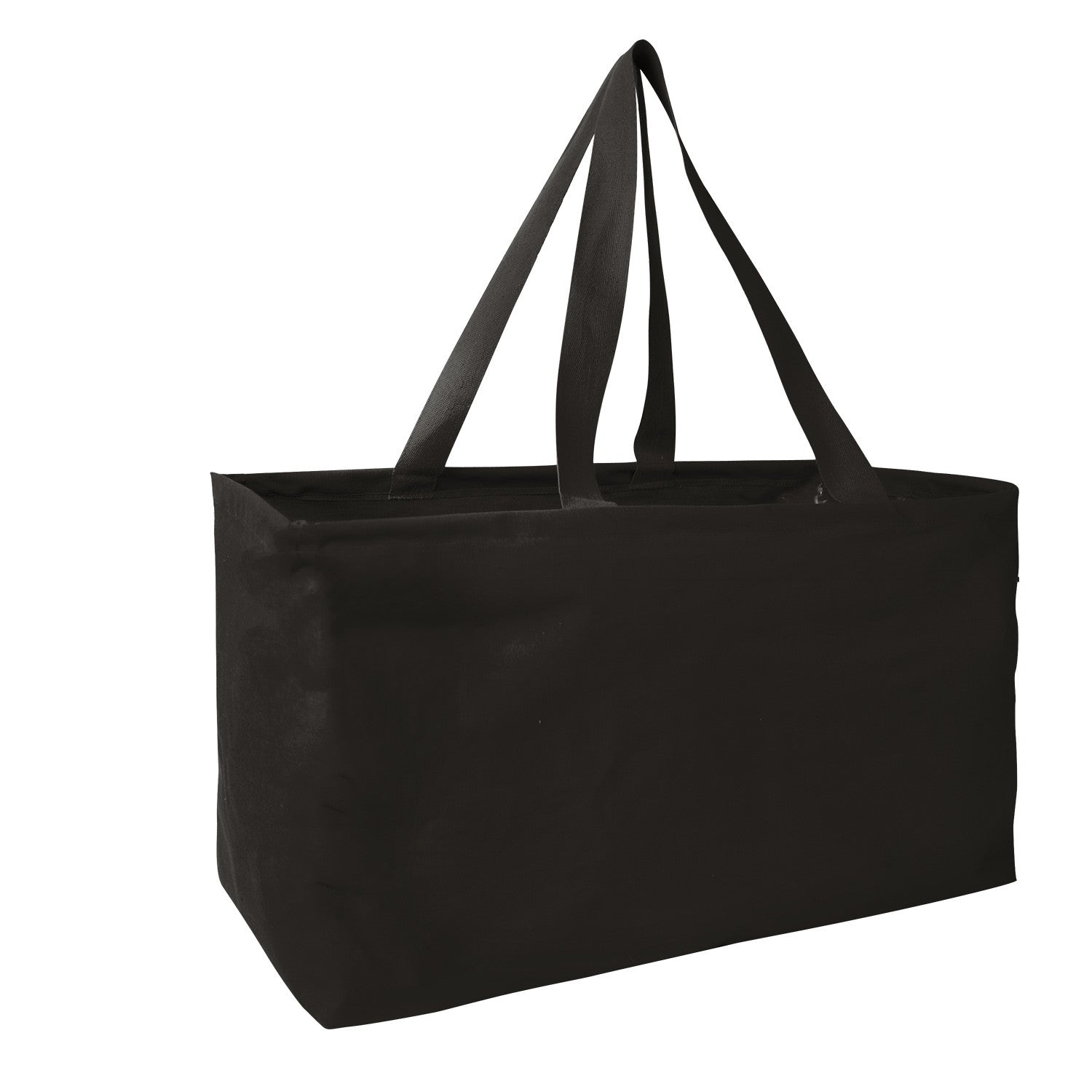 Structured Carry Tote with Full Color Logo