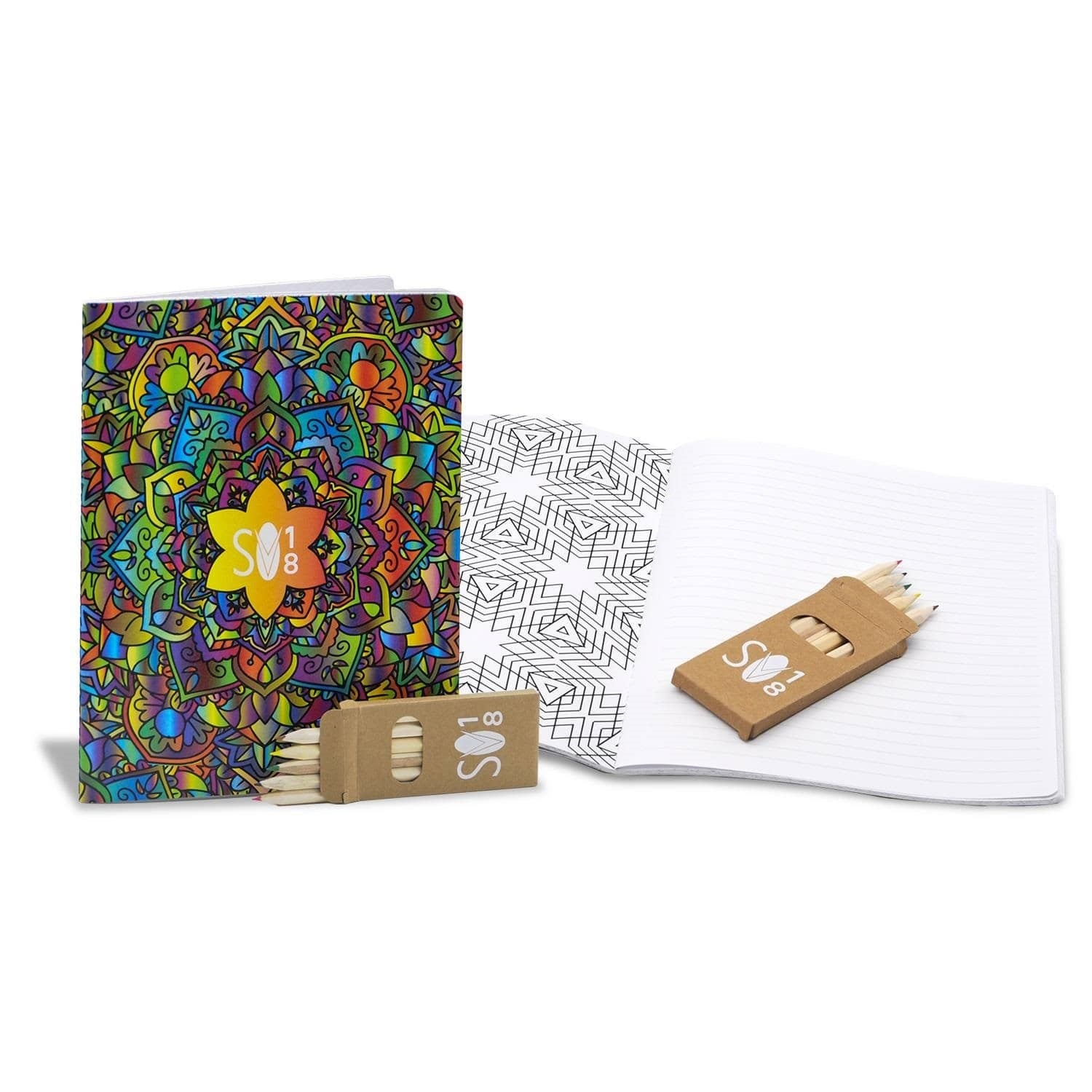 coloring book journal set 7x9