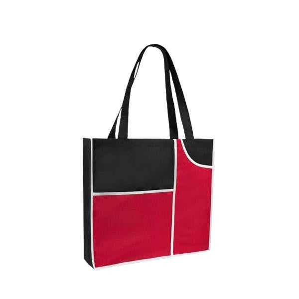 Color Block Meeting Tote Bags