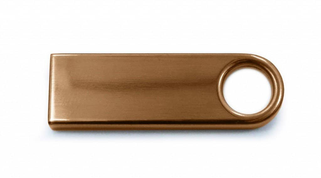 Engraved Flash Drives - copper