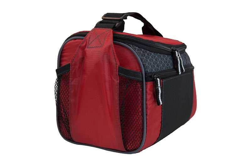 promotional lunch cooler bag - red