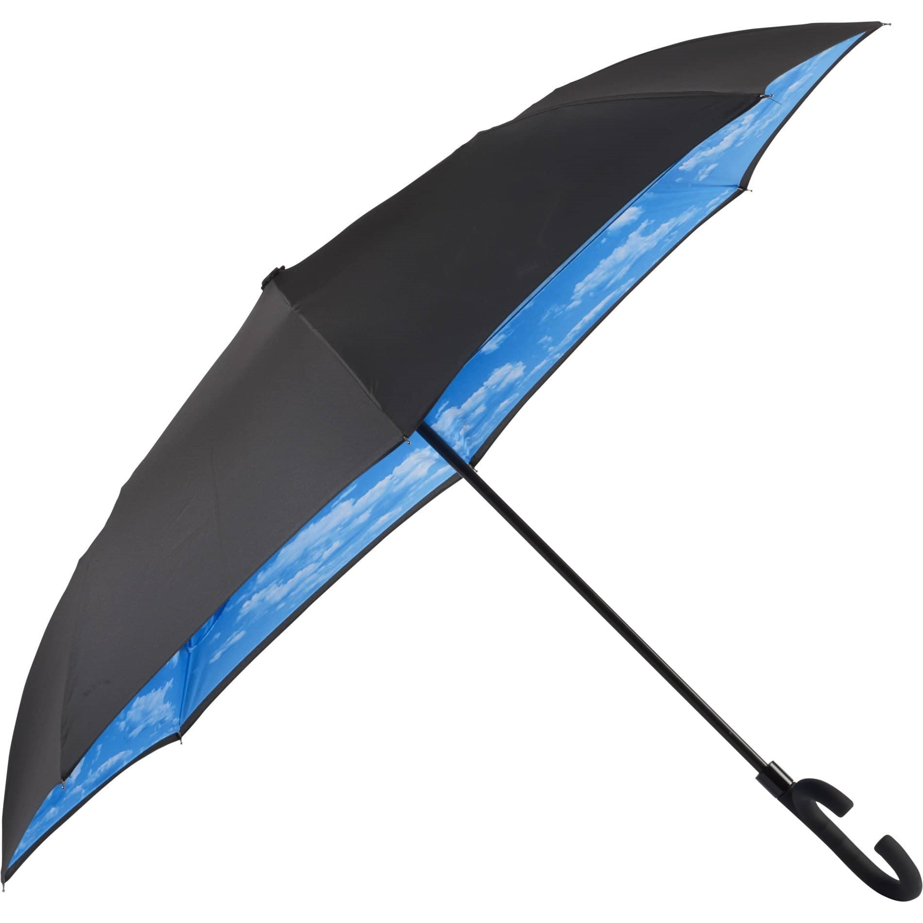 Inverted Umbrella with Unique Handle