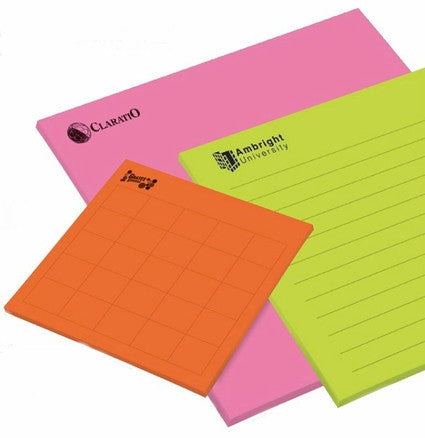 Customized Super Size Post It Notes Promotional Post It Promorx