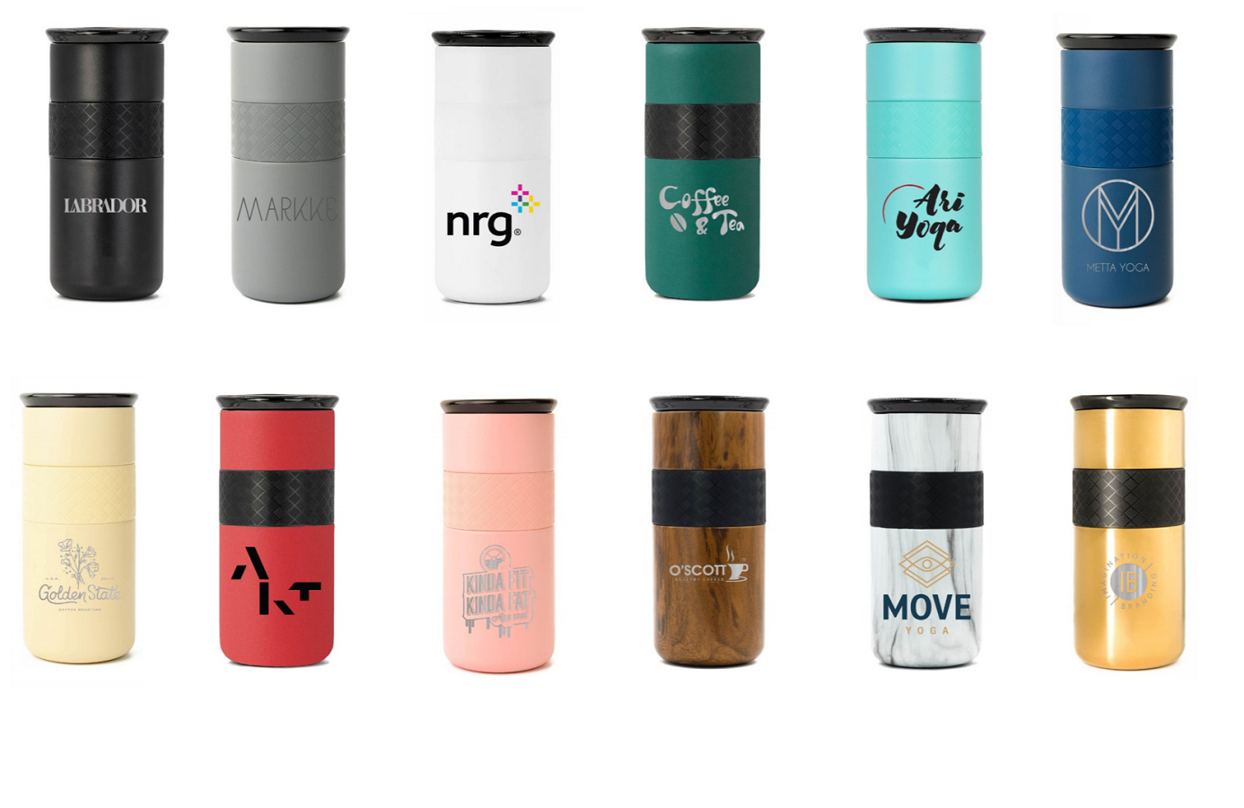 Custom Tumbler Cups 16 oz colors