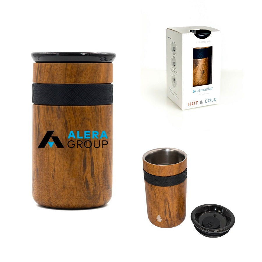 Custom Tumbler Cups TeakWood Packaging