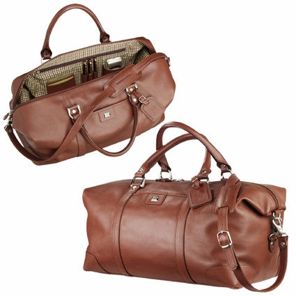 Top Grain Leather Weekender Bag