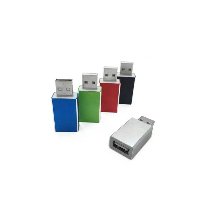 USB Data Blockers, Aluminum Colors