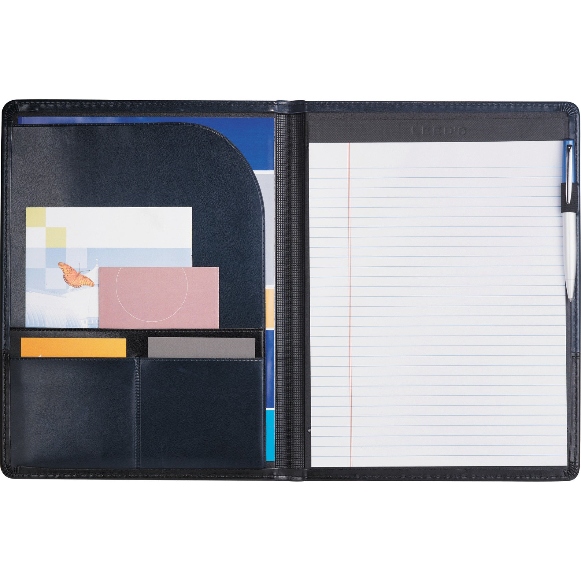Debossed Writing Padfolio