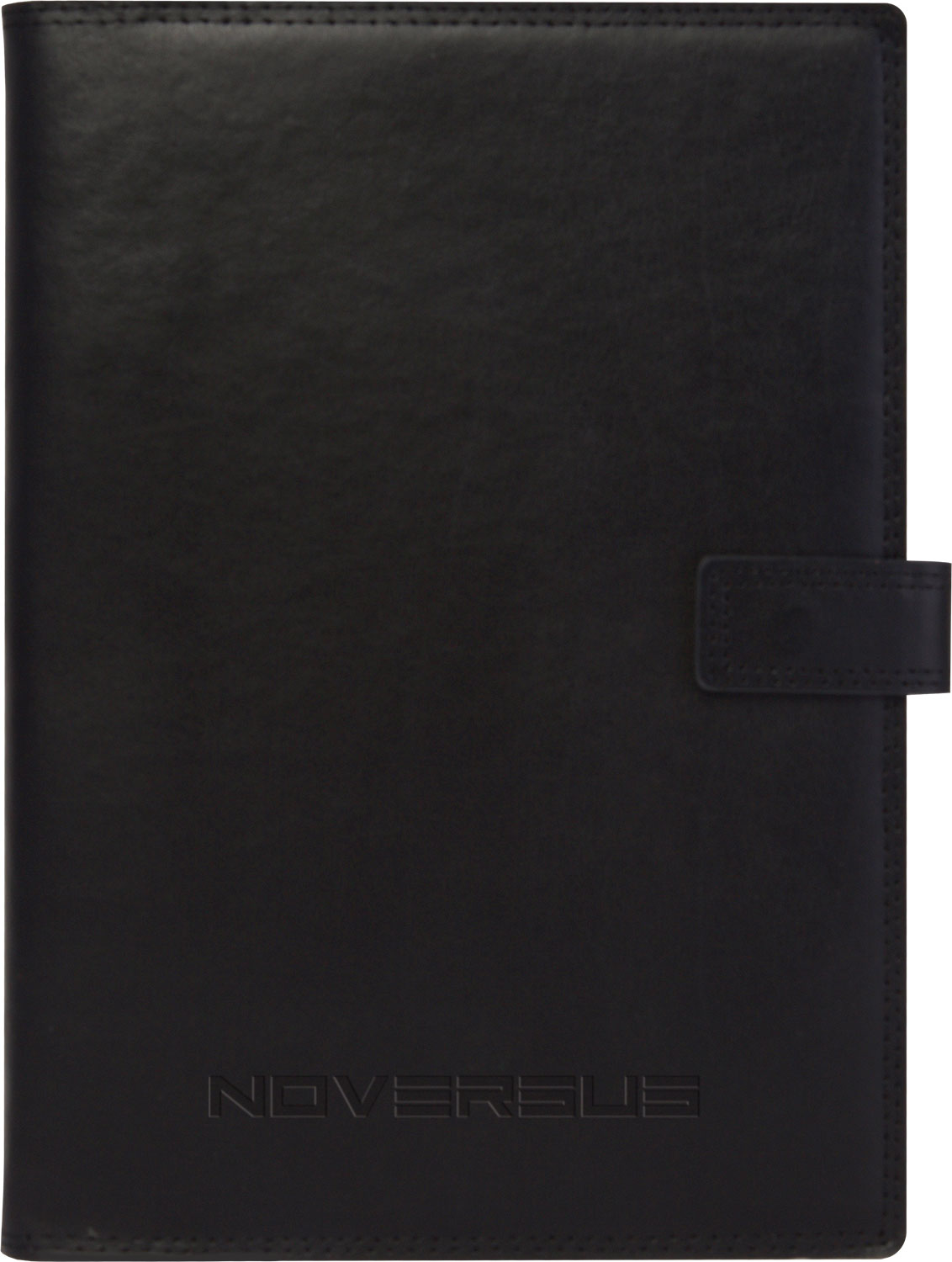 Debossed Genuine Leather Refillable Journal