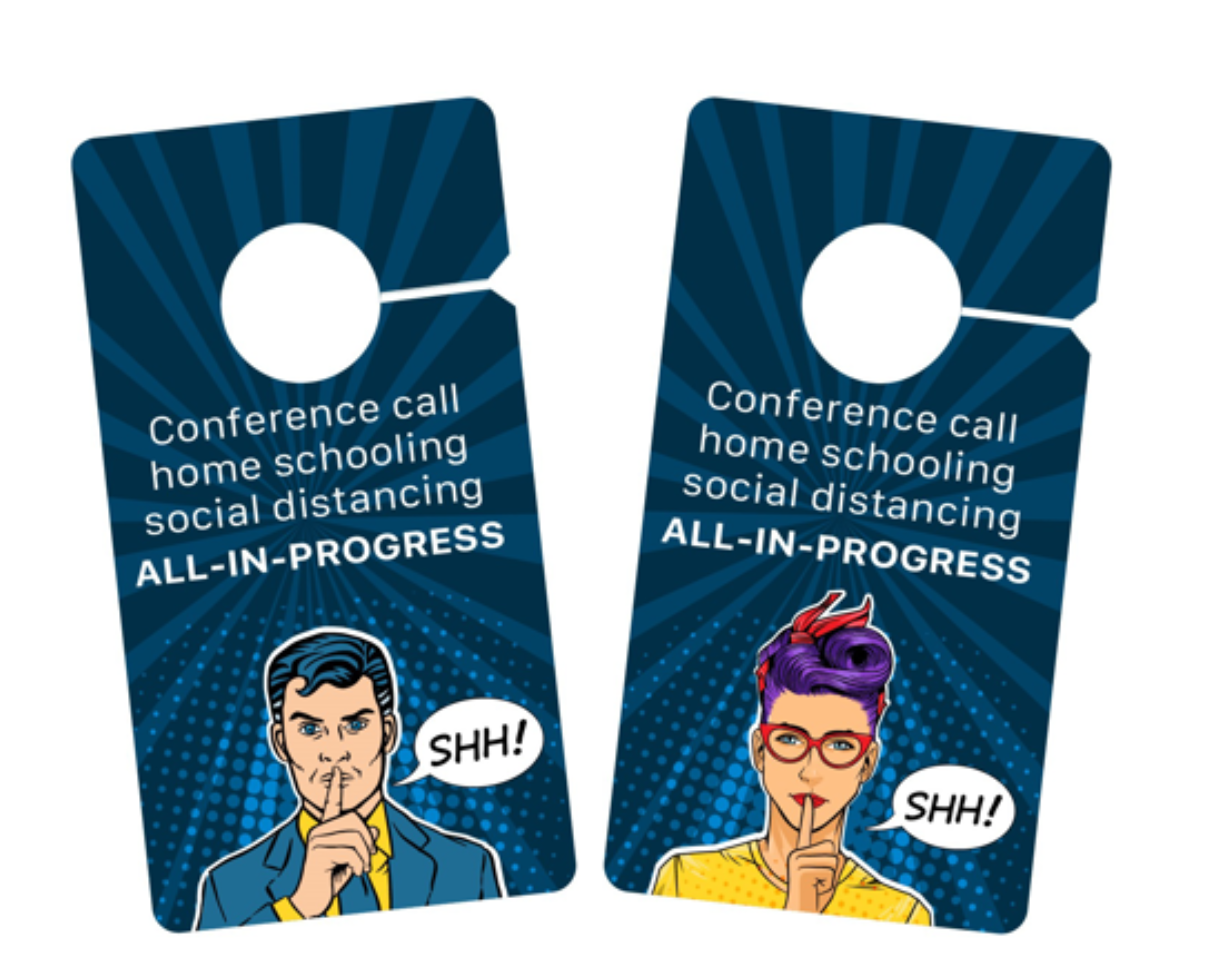 door hanger signs