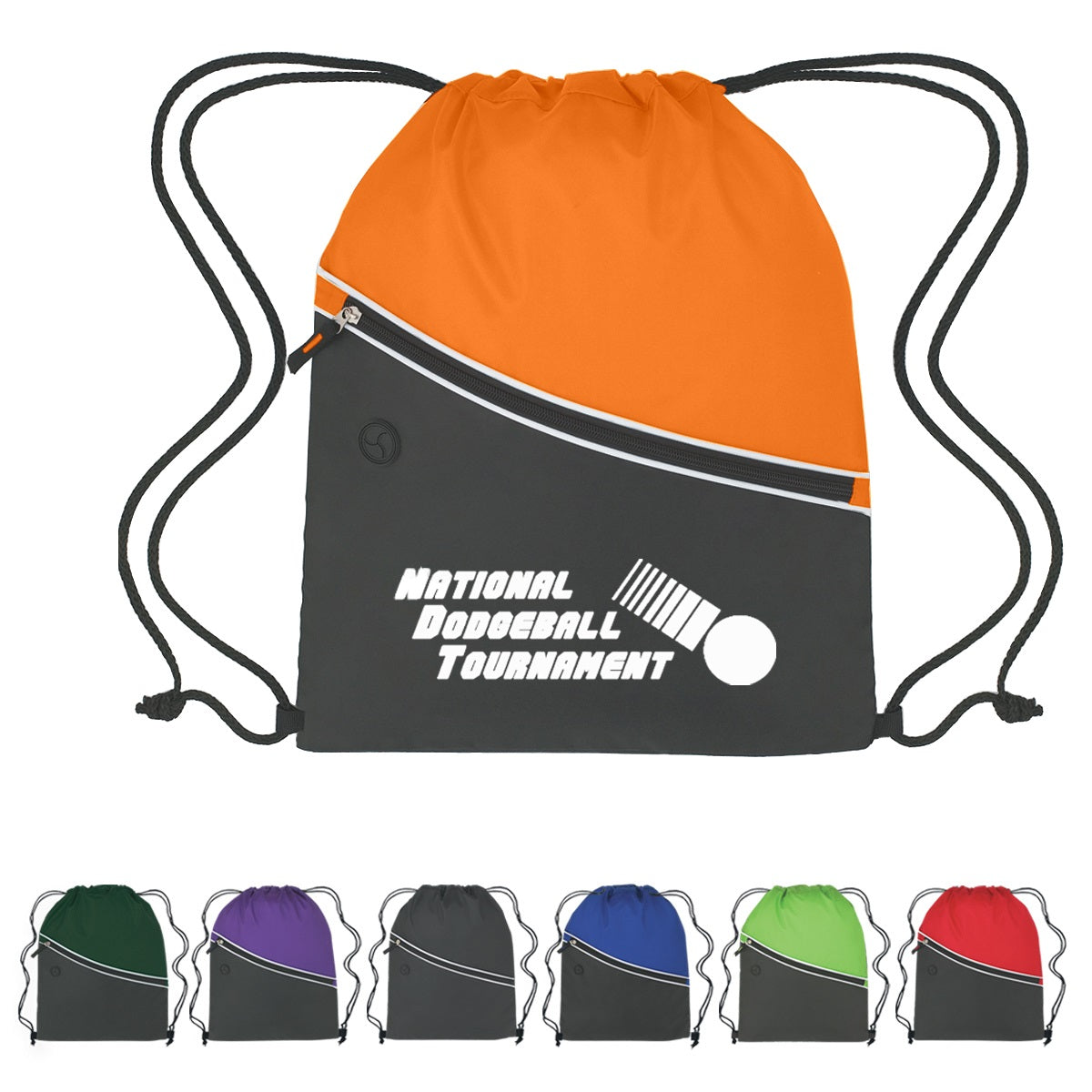 custom drawstring backpacks - colors